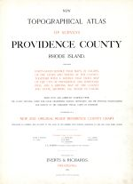 Title Page, Providence County 1895